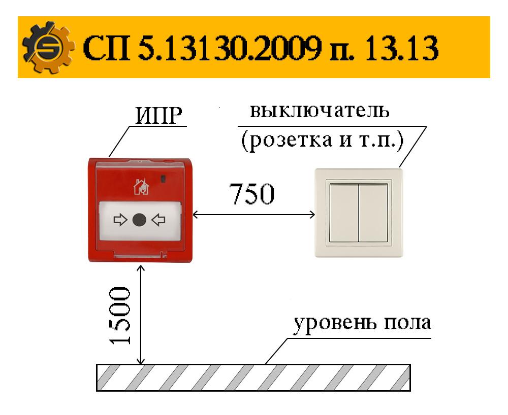 СП 5.13130.2009 п. 13.13