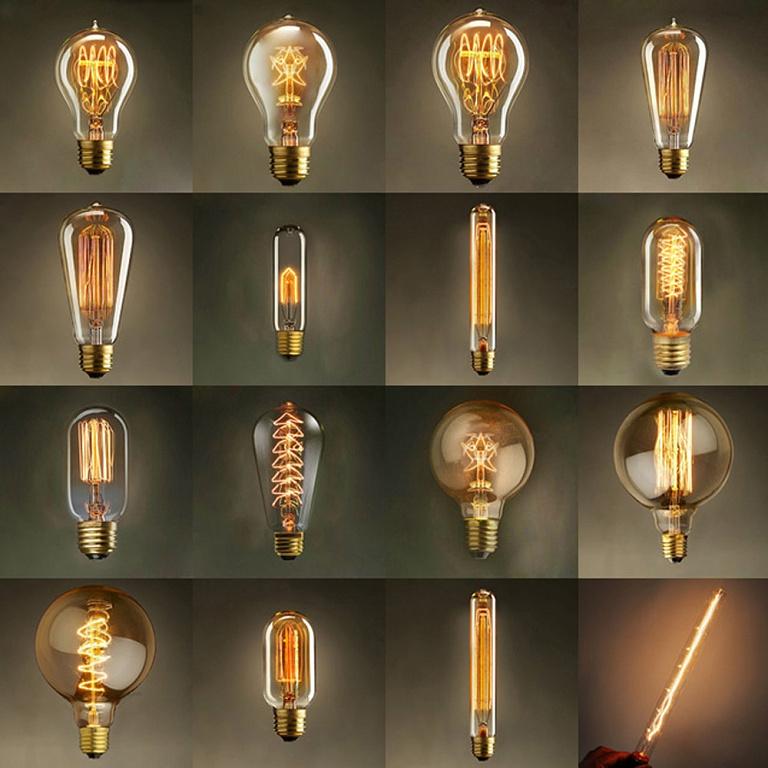 Декоративные лампы Эдисона