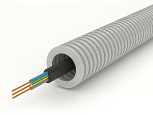 Таблицы соответствия размеров кабеля и гофро-трубы, трубы жесткой, металлорукава