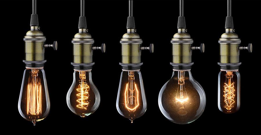 Декоративные лампы Эдисона 2