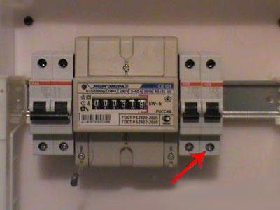 Установка электросчетчика 18