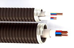 провода в металлорукаве