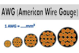 Переводим сечение AWG в мм2